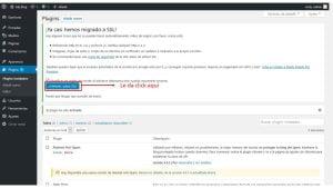 activar el http en wordpress